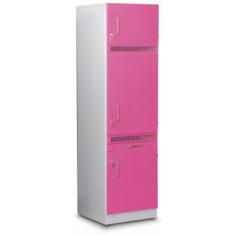 Шкаф медицинский  высокий для хранения медикаментов (для установки встроенного холодильника) в