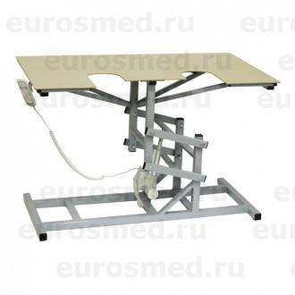 Стол ветеринарный универсальный СВУ-19 э/привод для УЗИ и эхо процедур в