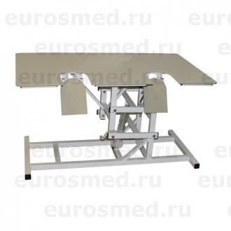 Стол ветеринарный универсальный СВУ-29 с опускающимися створками для УЗИ в