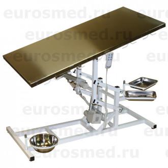Стол ветеринарный универсальный СВУ-30 с тремя электроприводами в