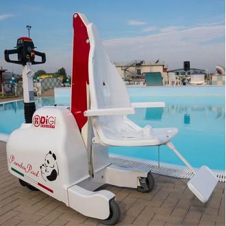 Подьёмник для бассейна и набережной DiGi PandaPool  в