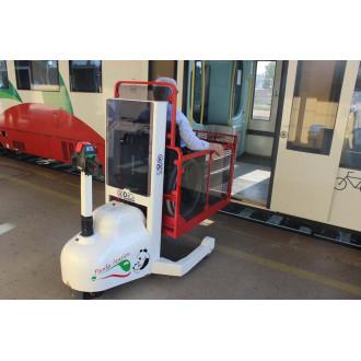 Мобильный подъёмник для железных дорог DiGi PandaStation в