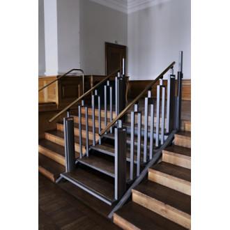 Лестница-трансформер FlexStep V2 / 5 ступенек / высота подъема до 1110 мм в