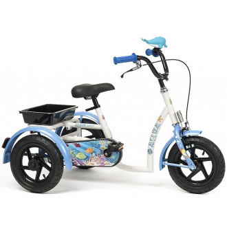 Трехколесный детский велосипед Vermeiren Aqua (3-7 лет) в